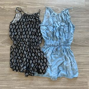 2 for $12 Light & Airy Rompers